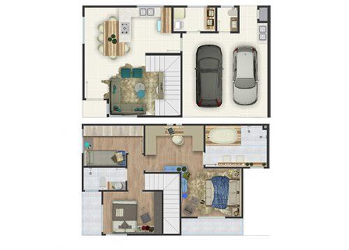 Yo Residence - Planta 1