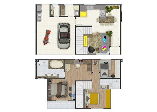 Yo Residence - Planta 2