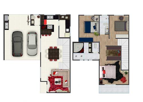 Yo Residence - Planta 3