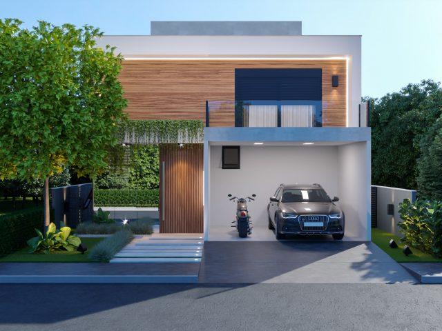 Casa Lótus • Em construção 1