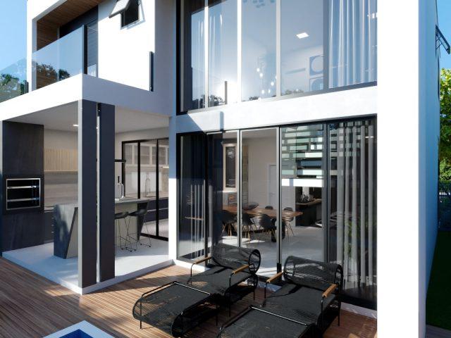 Casa Lótus • Em construção 3
